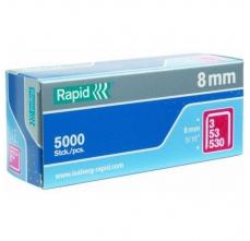 Capse Rapid 53/8 mm, STANDARD, 5.000/ cutie0