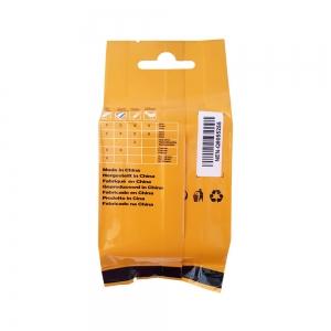 Etichete industriale autocolante compatibile, DYMO ID1, nailon flexibil, 19mm x 3.5m, negru/alb, 18489 S0718120-C8