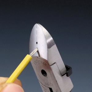 Cleste sfic taiere diagonala/dezizolare cabluri ENGINEER NK-26, 153 mm, fabricat in Japonia1
