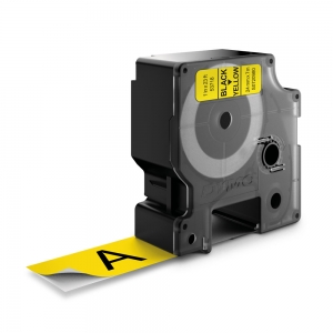 Banda D1 24 mm x 7 m, negru / galben, DYMO cod DY 53718