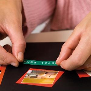 Etichete plastic embosabile DYMO Omega, 9mmx3m, verde, S0898160 S08477002
