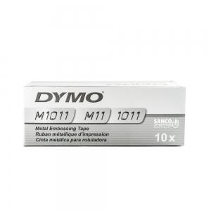 Etichete metalice embosabile industriale DYMO, 12mmx6,4m, otel inoxidabil, 32500 SD3012415