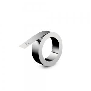 Etichete metalice embosabile industriale DYMO, 12mmx6,4m, otel inoxidabil, 32500 SD3012410
