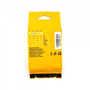 Etichete industriale autocolante compatibile, DYMO ID1, poliester permanent, 12mm x 5.5m, negru/alb, 18483 18483-C6