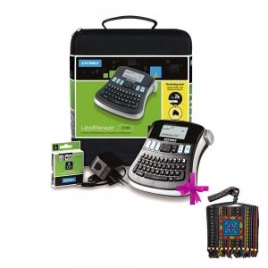 Aparat de etichetat (imprimanta etichete) DYMO LabelManager 210D, Kit0