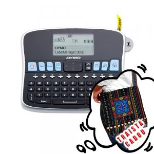 Aparat etichetat (imprimanta etichete) DYMO LabelManager 360D, acumulator reincarcabil inclus, S0879510 S0879520 S0879490 87951010