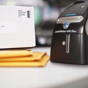 Imprimanta termica etichete DYMO LabelWriter 450 Duo, aparat de etichetat S0838920 S08389602