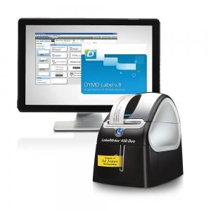 Imprimanta termica etichete DYMO LabelWriter 450 Duo, aparat de etichetat S0838920 S08389606