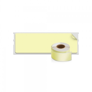 DYMO LabelWriter, Address Labels, permanent, 28mmx89mm, paper color, 4 rolls/box, 99011 99010 S07223801
