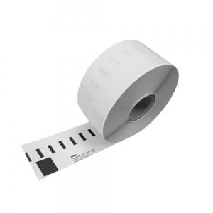 Etichete termice, DYMO LabelWriter, adrese mari, permanente, 89mmx36mm, plastic transparent, 1 rola/cutie, 260 etichete/rola, S0722410 99012 S07224001