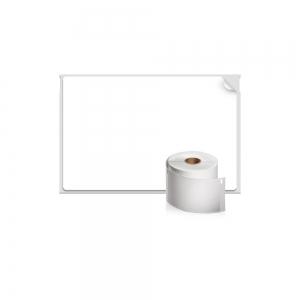 Etichete termice industriale, DYMO LabelWriter Durable, transport, 59mmx102mm, polipropilena alba, 1 rola/cutie, 300 etichete/rola, 19330881