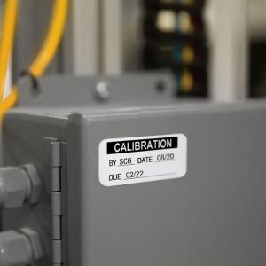 Etichete termice industriale, DYMO LabelWriter Durable, coduri de bare, 19mmx64mm, polipropilena alba, 1 rola/cutie, 900 etichete/rola, 19330853