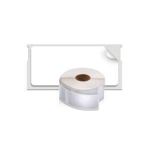 Etichete termice industriale, DYMO LabelWriter Durable, multifunctionale mici, 25mmx54mm, polipropilena alba, 1 rola/cutie, 160 etichete/rola, 19764111
