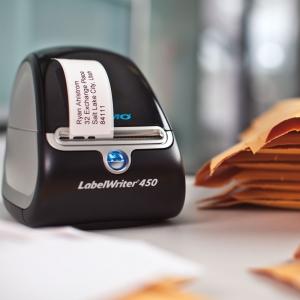 Etichete termice, DYMO LabelWriter, adrese mari, permanente, 89mmx36mm, hartie alba, 1 rola/cutie, 260 etichete/rola, 1983172 99012 S07224003