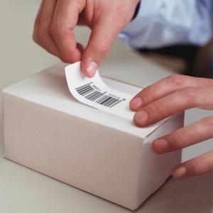 Etichete termice, DYMO LabelWriter, adrese mari, permanente, 89mmx36mm, plastic transparent, 1 rola/cutie, 260 etichete/rola, S0722410 99012 S07224003
