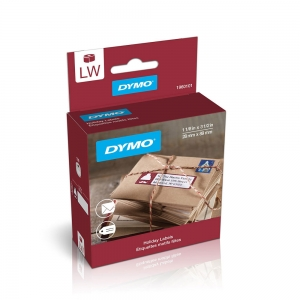Etichete termice, DYMO LabelWriter, Lumberjack Holiday, permanente, 28mmx89mm, hartie alba, 1 rola/cutie, 130 etichete/rola, 1960101