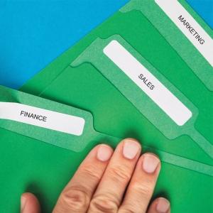 Etichete termice compatibile, DYMO LabelWriter, dosare suspendate, permanente, 12mmx50mm, hartie alba, 220 etichete/rola, 99017 S07224604