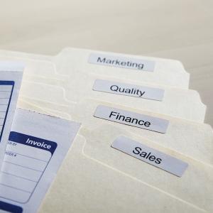 Etichete termice, DYMO LabelWriter, dosare suspendate, permanente, 12mmx50mm, hartie alba, 1 rola/cutie, 220 etichete/rola, 99017 S07224605