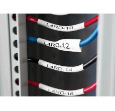 DYMO XTL tub termocontractibil (etichete industriale) 6mm x 34mm alb 18687173
