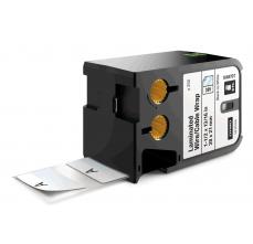 Etichete Dymo XTL vinil autolaminant 38mm x 21mm, albe, 250 etichete/banda