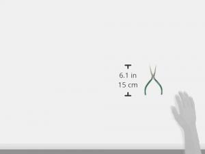 ENGINEERPR-46 Cleste nas lung semirotund 50 mm, 160 mm4