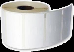Etichete 54 mm x 11 mm, hartie alba, pentru bijuterii si optica, DYMO LabelWriter0