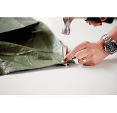 Saibe Rapid pentru ocheti diametru 12 x 23mm, aluminiu, sitem fixare inclus, 25 buc/ blister2