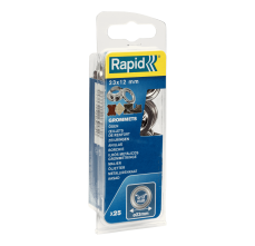 Saibe Rapid pentru ocheti diametru 12 x 23mm, aluminiu, sitem fixare inclus, 25 buc/ blister0