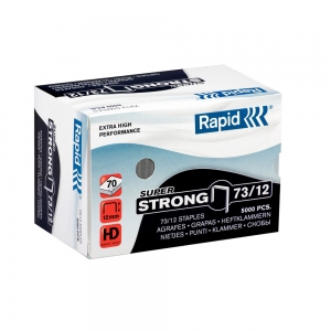 Heavy duty Rapid 73/12 staple  5 000 pcs/box SUPER STRONG0