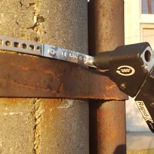 Etichete compatibile metalice embosabile industriale DYMO, 12mmx6,4m, otel inoxidabil DYA325005