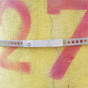 Etichete compatibile metalice embosabile industriale DYMO, 12mmx6,4m, otel inoxidabil DYA325009