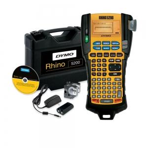 Aparat etichetat industrial Dymo Rhino 5200 kit cu servieta, ABC, 19mm, S0841400 PTE300VPYJ1 DE272939534 84140014