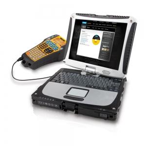 Aparat etichetat industrial Dymo Rhino 6000, 24 mm, conectare PC, S077380012