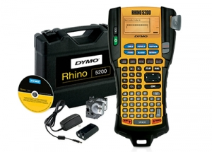 Aparat de etichetat Dymo Rhino 5200 KIT si 4 x banda vinil DY8414005