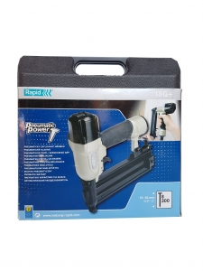 Pistol de batut cuie Rapid Pneumatic 18G+, 8/15-50mm,Kit6