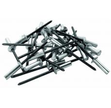 Popnituri Rapid etansare - diametrul de 4 mm x 12 mm, aluminiu, burghiu inclus, 50 buc/ blister1