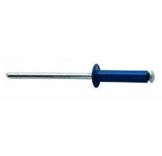 Popnituri Rapid Automotive - diametrul de 4 mm x 16 mm, aluminiu 4 culori, burghiu inclus, 32 buc/ blister3