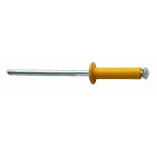 Popnituri Rapid Automotive - diametrul de 4 mm x 16 mm, aluminiu 4 culori, burghiu inclus, 32 buc/ blister5