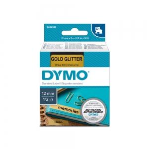 Aparat de etichetat profesional DYMO LabelManager 160P si o caseta etichete profesionale, 12mmx3m, negru/auriu, DY 208434911