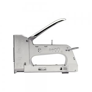 "Capsator tacker cabluri Rapid PRO 36E, capse semirotunde ""U"" 36/10-14 mm, reglare forta capsare in 3 trepte, diametru cablu 6 mm, joasa tensiune, 5 ani garantie, fabricat in Suedia 205118119"
