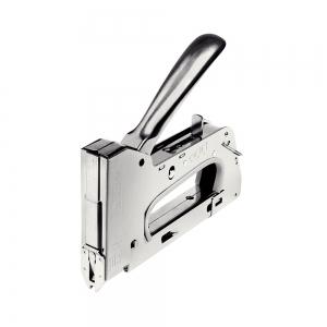 "Capsator tacker cabluri Rapid PRO 36E, capse semirotunde ""U"" 36/10-14 mm, reglare forta capsare in 3 trepte, diametru cablu 6 mm, joasa tensiune, 5 ani garantie, fabricat in Suedia 205118117"
