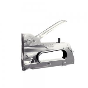 "Capsator tacker cabluri Rapid PRO 36E, capse semirotunde ""U"" 36/10-14 mm, reglare forta capsare in 3 trepte, diametru cablu 6 mm, joasa tensiune, 5 ani garantie, fabricat in Suedia 2051181110"