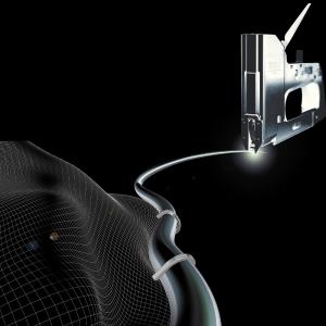 "Capsator tacker cabluri Rapid PRO 36E, capse semirotunde ""U"" 36/10-14 mm, reglare forta capsare in 3 trepte, diametru cablu 6 mm, joasa tensiune, 5 ani garantie, fabricat in Suedia 205118116"