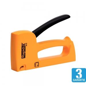 Capsator tacker Rapid R13E, ergonomic, capse 13/4-10 mm, 3 ani garantie, fabricat in Suedia 204439010