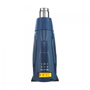 Pistol cu aer cald Rapid R2000, putere 2000 W, debit 450 l/min, reglare debit aer in 3 trepte, temperatura 60°C/600°C, protectie la supra incalzire, 2 ani garantie, 50013428