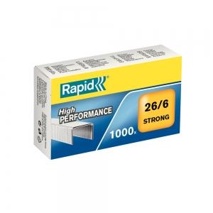 Capse Rapid Strong 26/6, otel galvanizat (24861400)