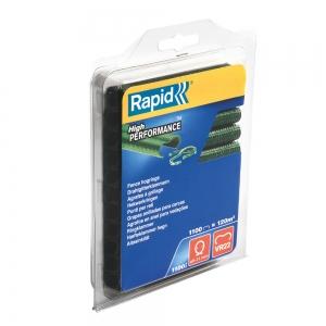 Capse gard Rapid HOG VR22, 5-11 mm, plastifiate verde, 1100 buc/blister6