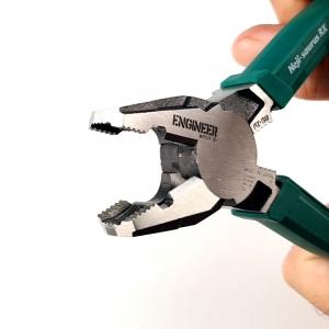 Cleste patent combinat ENGINEER PZ-59, extragere suruburi uzate, 200 mm, taie Ø3.2mm, fabricat in Japonia5
