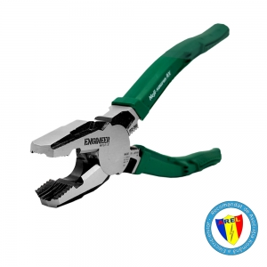 Plier Combined Plier ENGINEER PZ-59 Pliers, Extraction Screws, 200mm, Cut Ø3 2mm, 300g, Green, Made Japan0