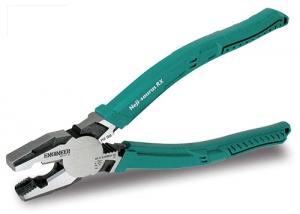 Cleste patent combinat ENGINEER PZ-59,extragere suruburi rupte,200mm,taie Ø3 2mm,300g,verde,fabricat Japonia1